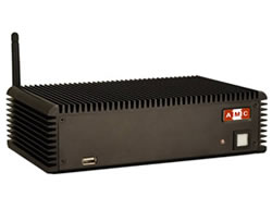 AMC-281B2-R10/D525/1GB Fanless embedded system